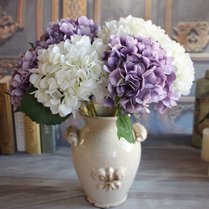 rose floral artificial silk peony flower hydrangea home 25 hydrangea flower arrangements for interior decorating