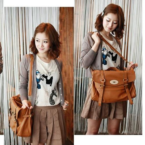 Brown Messenger Bag Women'S | Bags More