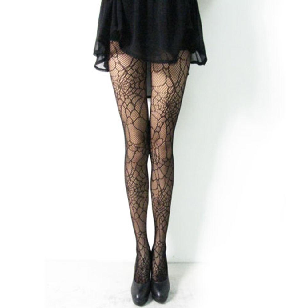 Black Fishnet Pattern Stockings Pantyhose Tights Leggings New Slimming | eBay