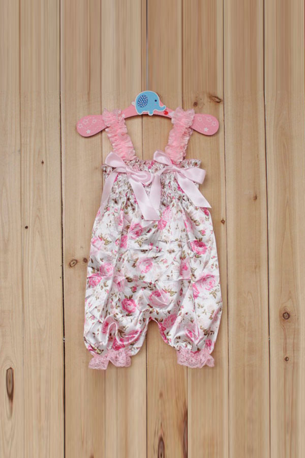 New Baby Girl Petti Ruffle Rompers Dress Newborn Children One-Piece Lace Pants | EBay