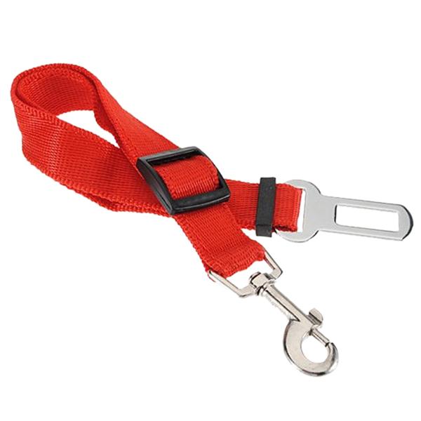 RED Car Vehicle Auto Seat Safety Safe Belt Seatbelt Restraint Lead for Dog Pet