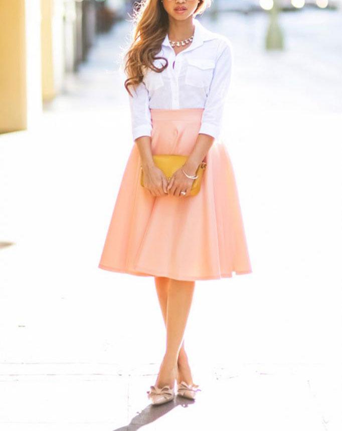 New Women Sexy Long A-Line Pleated Skirt High Waist Dresses Cocktail Clubwear