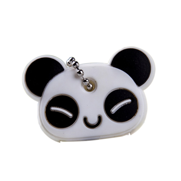 Animal Silicone Key Caps Head Covers Keys Keychain Case Shell Phone Strap