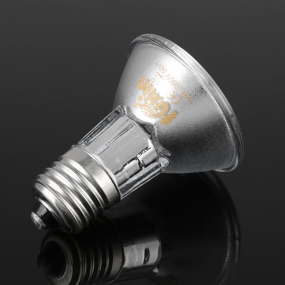220v 50w uva uvb reptile heat light bulb lamp for vivarium. Black Bedroom Furniture Sets. Home Design Ideas