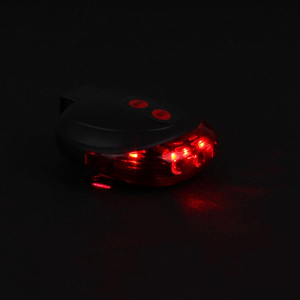 Outdoor-Bike-2-Laser-5-LED-Flashing-Lamp-Rear-Light-Taillight-Safety-Warning
