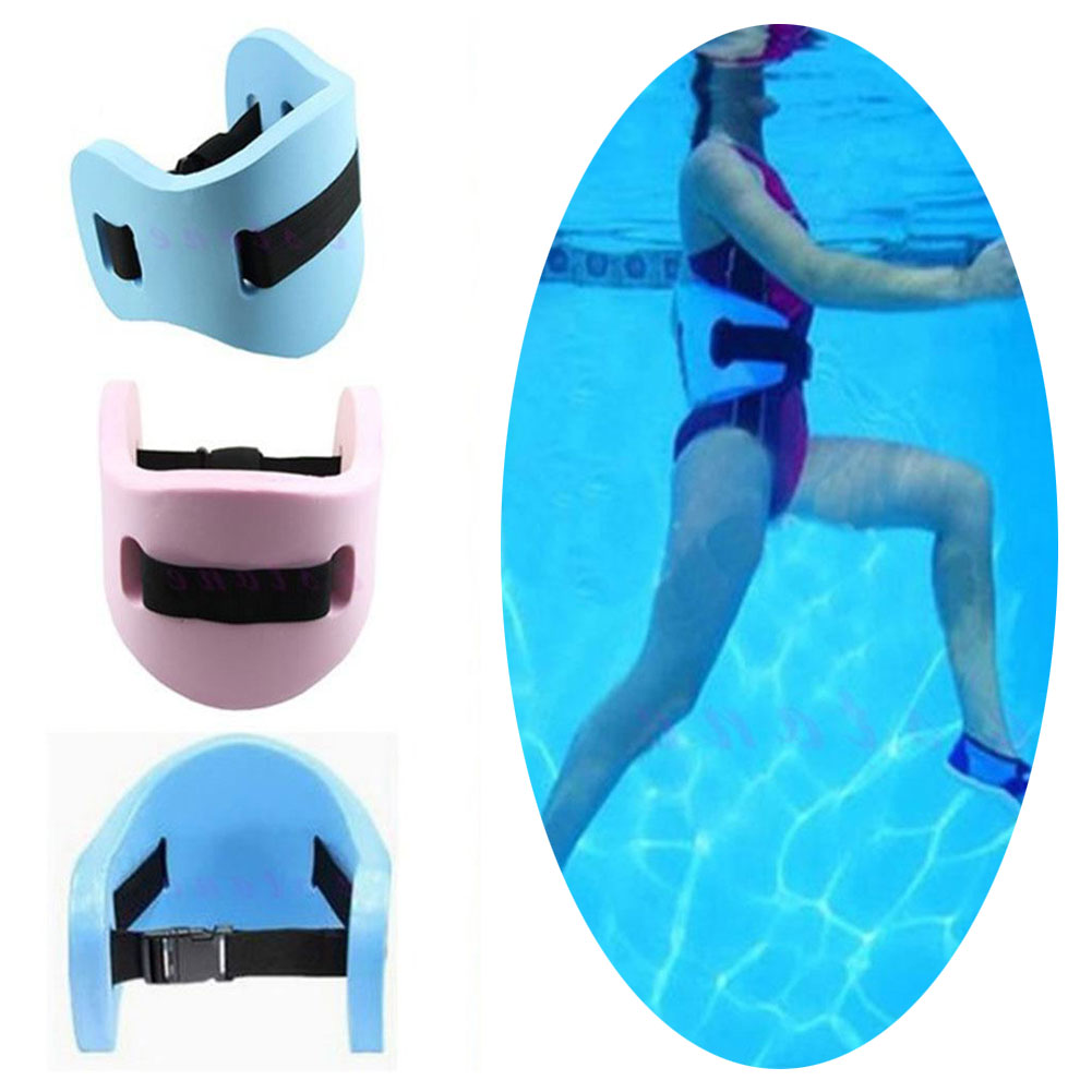 Swimming exercise water swim floating support floatation belt waistband ebay for Flotation belt swimming pool exercise equipment