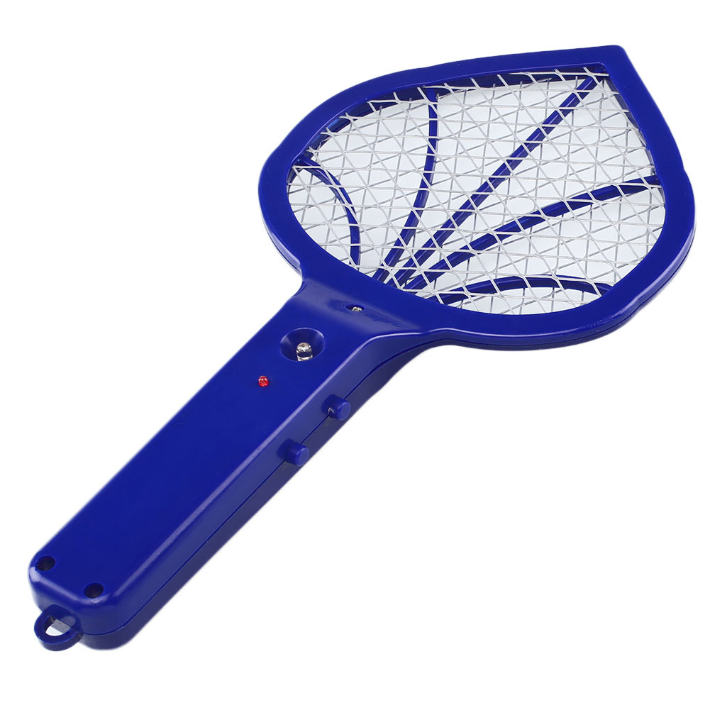 Electric-LED-Light-Three-Layer-Mesh-Mosquito-Flying-Insect-Swatter-Killer