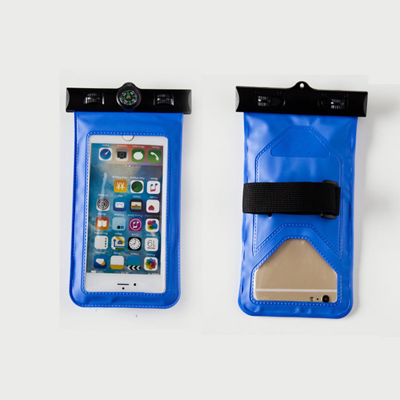 Waterproof-Underwater-Pouch-Bag-Dry-Case-Compass-For-Cell-Phone-Universal