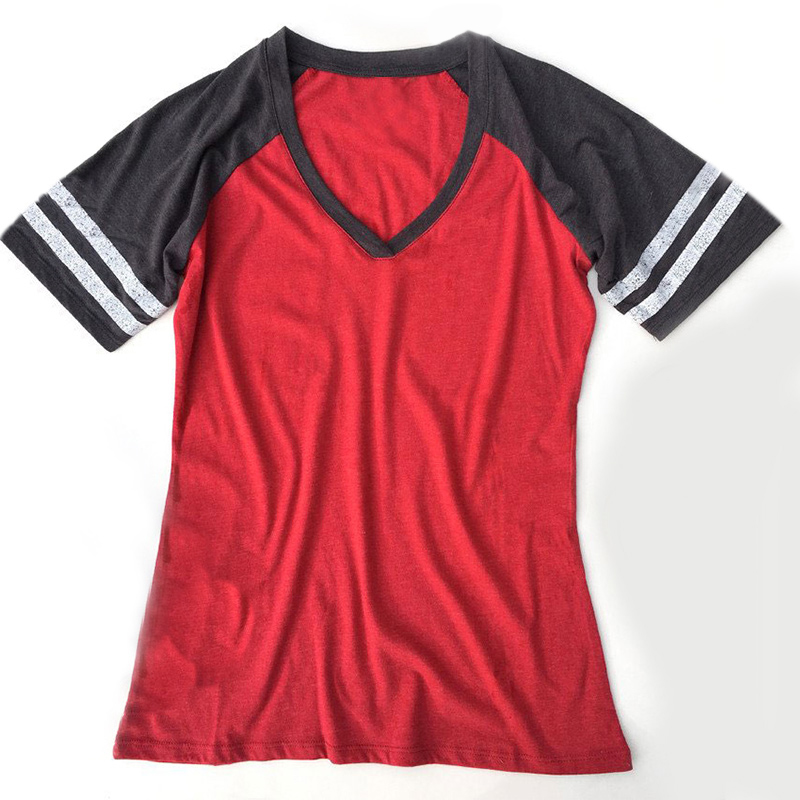 GAME-DAY-T-Shirt-Women-Party-College-Football-Baseball-Gameday-Tee-Casual-Tops