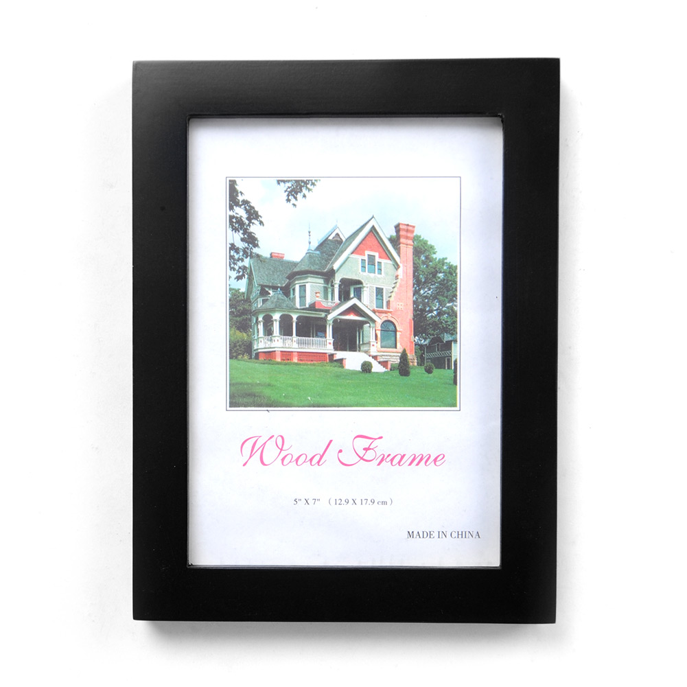 """5""""x7"""" Wood Combination Wall Mounted Picture Photo Frame Art Home Decor New"""