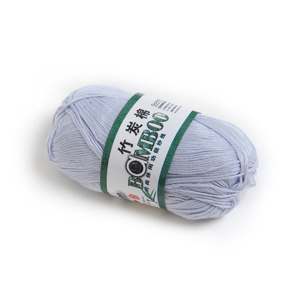 Bamboo Yarn : Bamboo-Cotton-Yarn-Knitting-Yarn-Natural-Smooth-Fingering-Colors-Soft ...