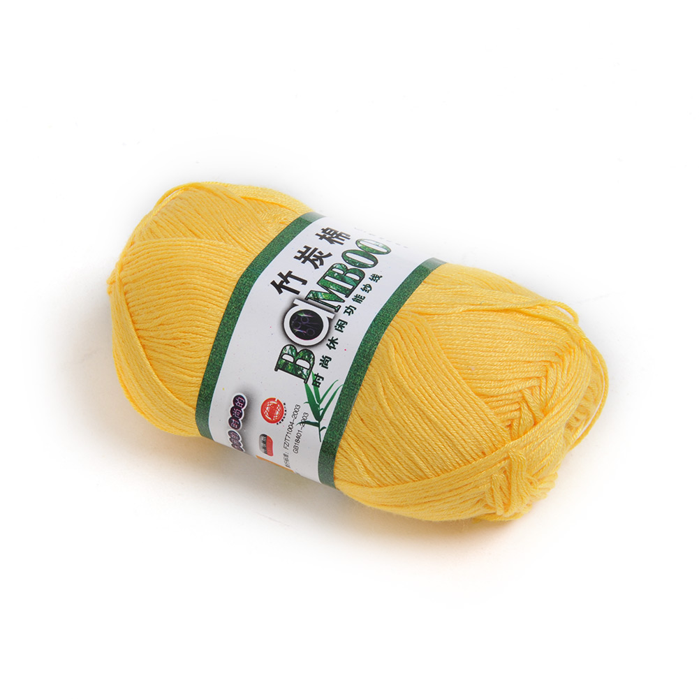 Bamboo Cotton Yarn Knitting Yarn Natural Smooth Fingering