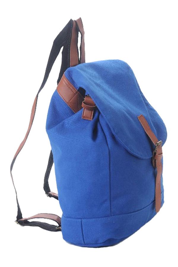 Womens Casual Canvas Satchel Rucksack Travel Schoolbag Bookbag Backpack