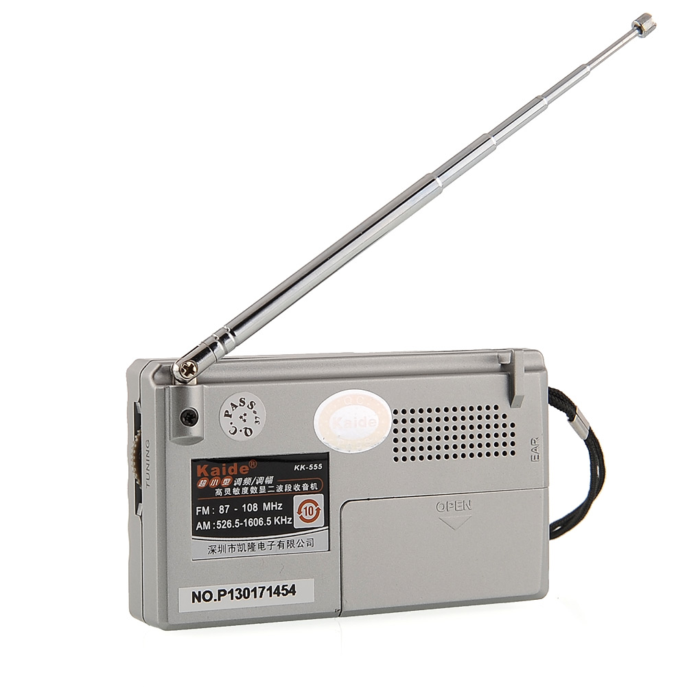 new portable am fm radio alarm clock lcd digital dispaly mini pocket travel k. Black Bedroom Furniture Sets. Home Design Ideas
