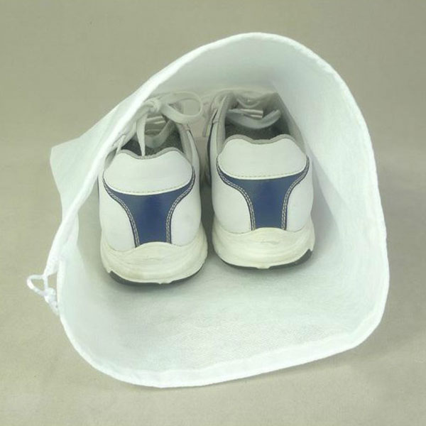 1/10pcs Non-Woven Shoe Storage Bag Travel Pack Dust Proof with Drawstring