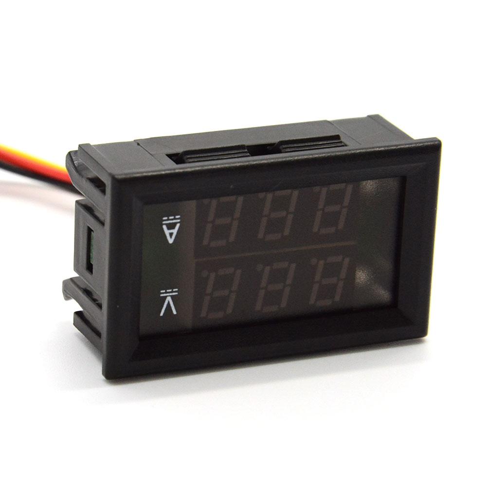 Digital Current Meter : Digital volt meter current ammeter ampere voltmeter