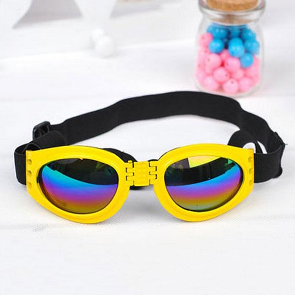 Pet Dog Cat Uv Protection Foldable Sunglasses