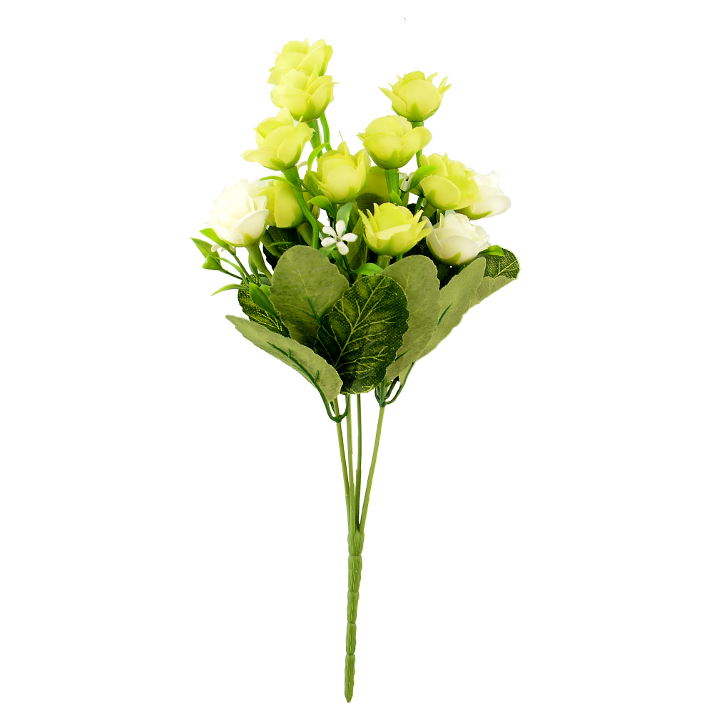 ... Artificial Faux Rose Silk Flower Wedding Flower Arrangement DIY | eBay