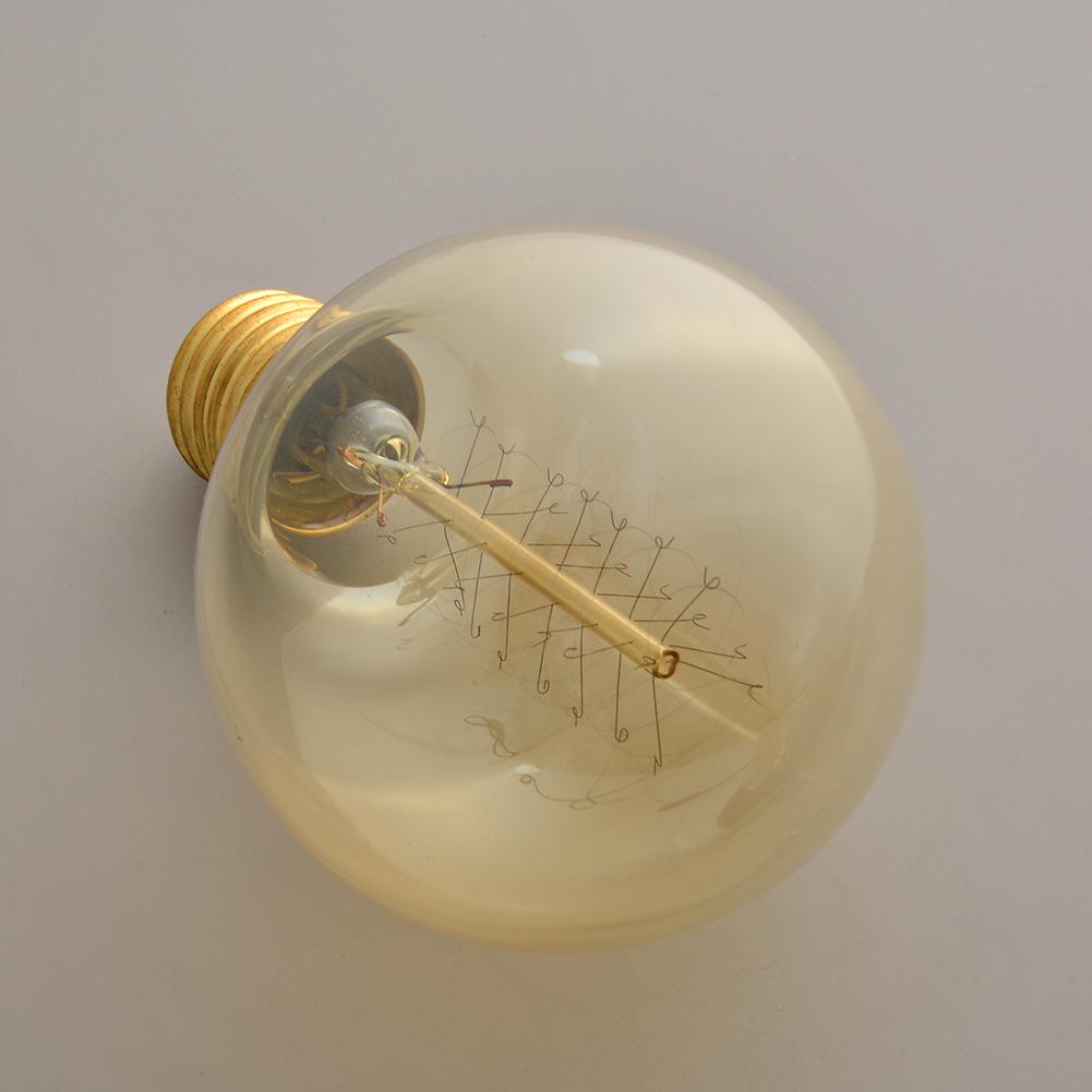 Buy G80 Led Filament E27 40w Bulb Online: Edison Vintage Antique G80 220V 40W E27 Industrial Light