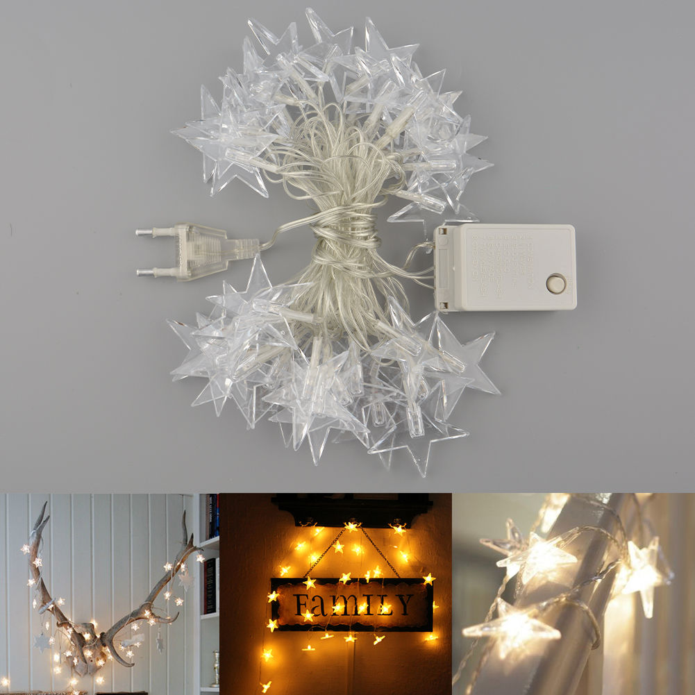 Charming Gorgeous Star Christmas Home Outdoor Party Wedding Decor String Light eBay