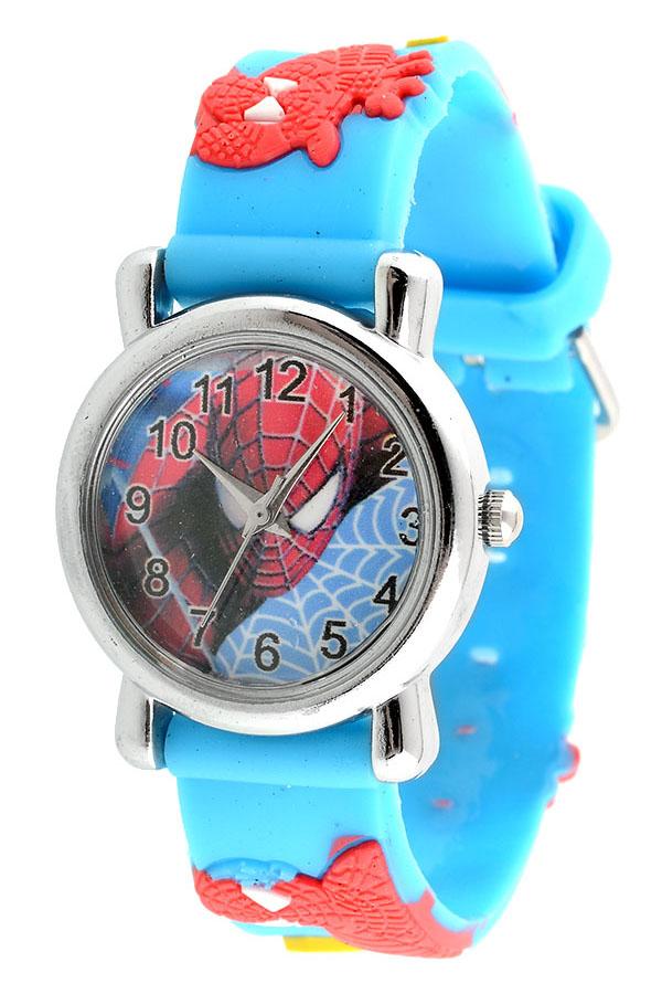 Cartoon 3D Printed Analog Quartz Child Wrist Watch Band Strap Gift Xmas