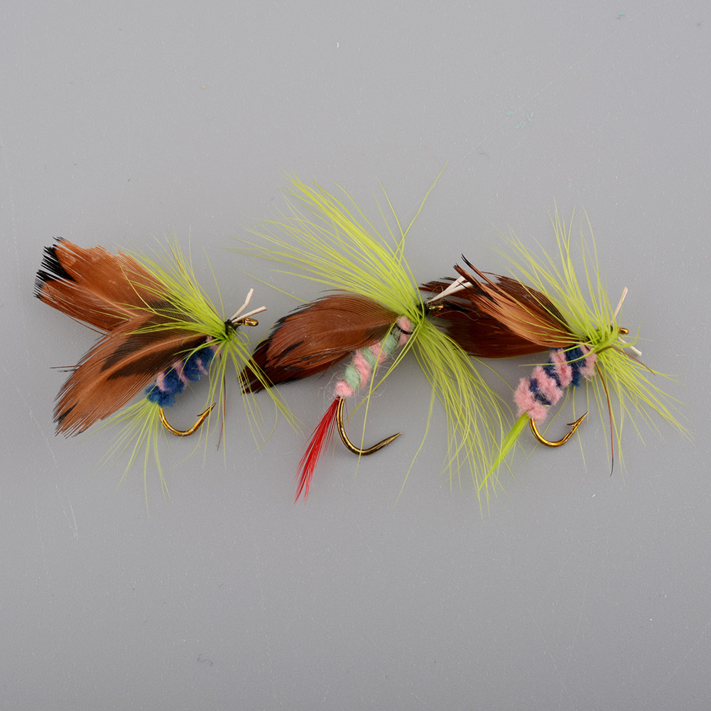 12x Sports Fishing Flies Trout Tackle Accessories Lures