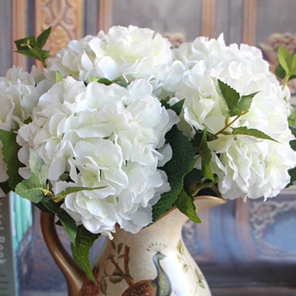 1D28-Green-Rose-Artificial-Peony-Flower-Floral-Bouquet-Room-Hydrangea-Decor