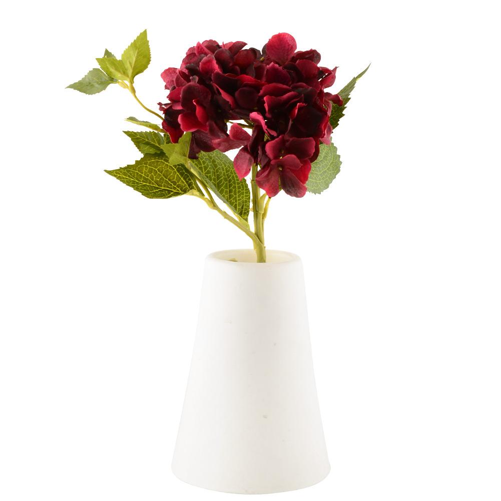 Rose artificial silk peony flowers arrangement floral bouquet hydrangea decor ebay for Arrangement floral artificiel