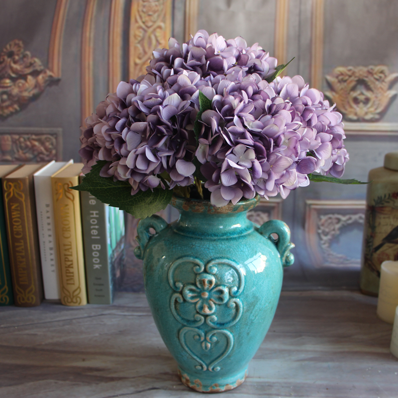 french rose artificial silk peony flower arrangement room floral home decor hydrangea magnolia flowers swag