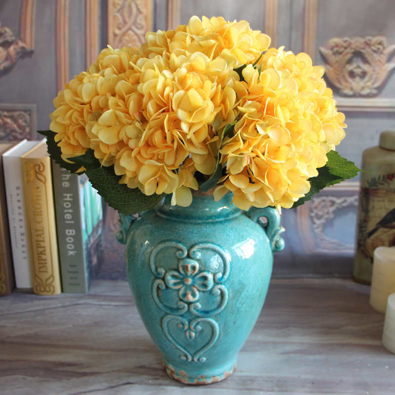 Http Www Ebay Co Uk Itm French Rose Artificial Silk Peony Flower Arrangement Room Hydrangea Home Decor 301571959037