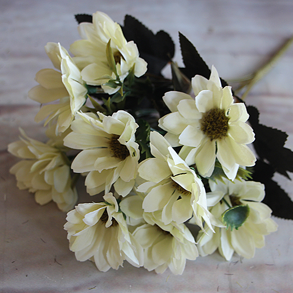 French Rose Floral Artificial Fake Peony Flower Spring Daisy Wedding Home Decor