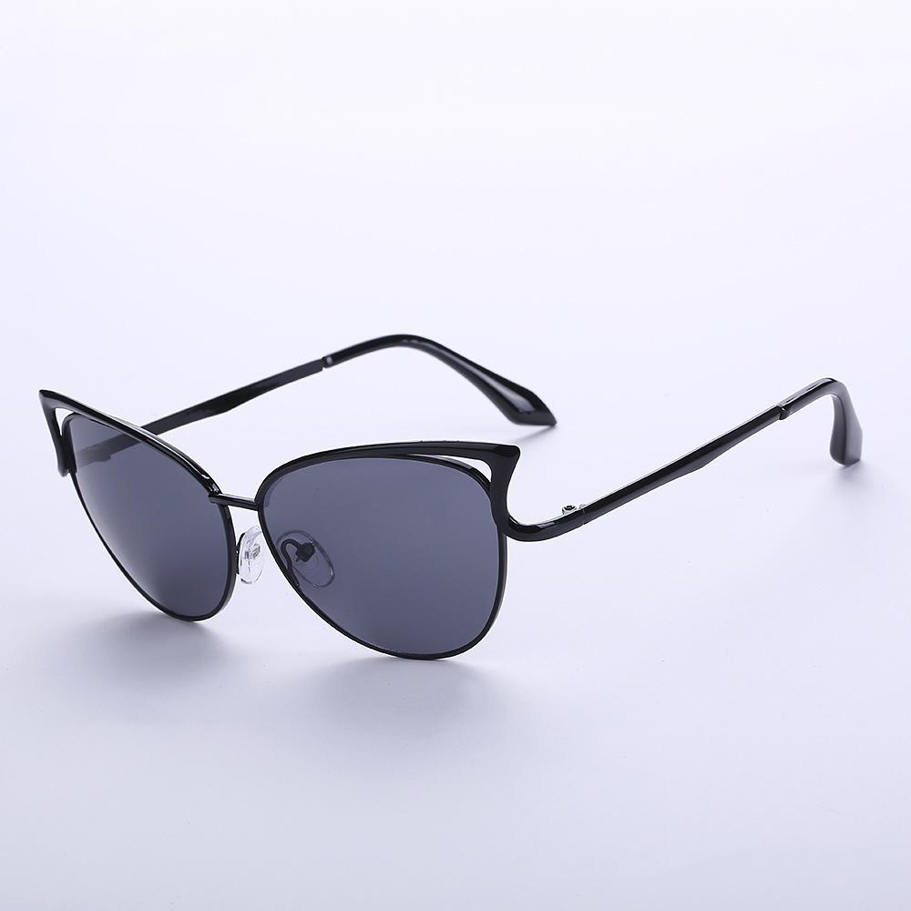 Fashion Women Retro Vintage Shades Oversized Cat Eye Sunglasses Glasses