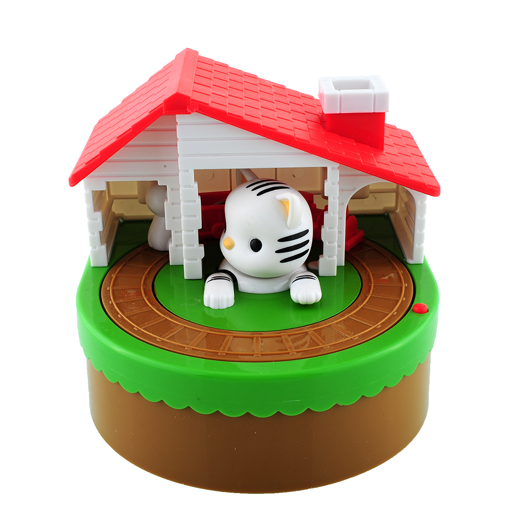 Cute stealing coin cat penny cents piggy bank saving box money box kids present - Coin stealing cat piggy bank ...