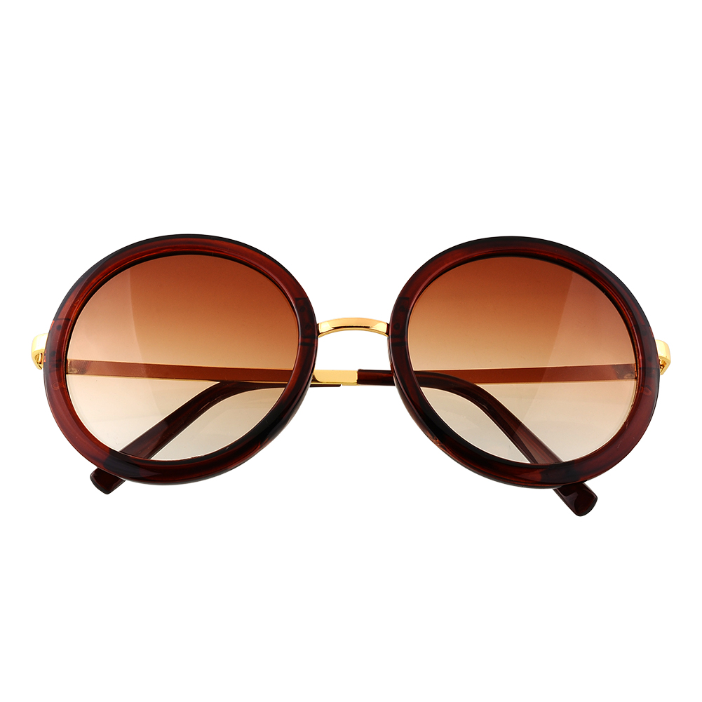 New Women Lady Eyewear Vintage Retro Lens Mirror Glasses ...