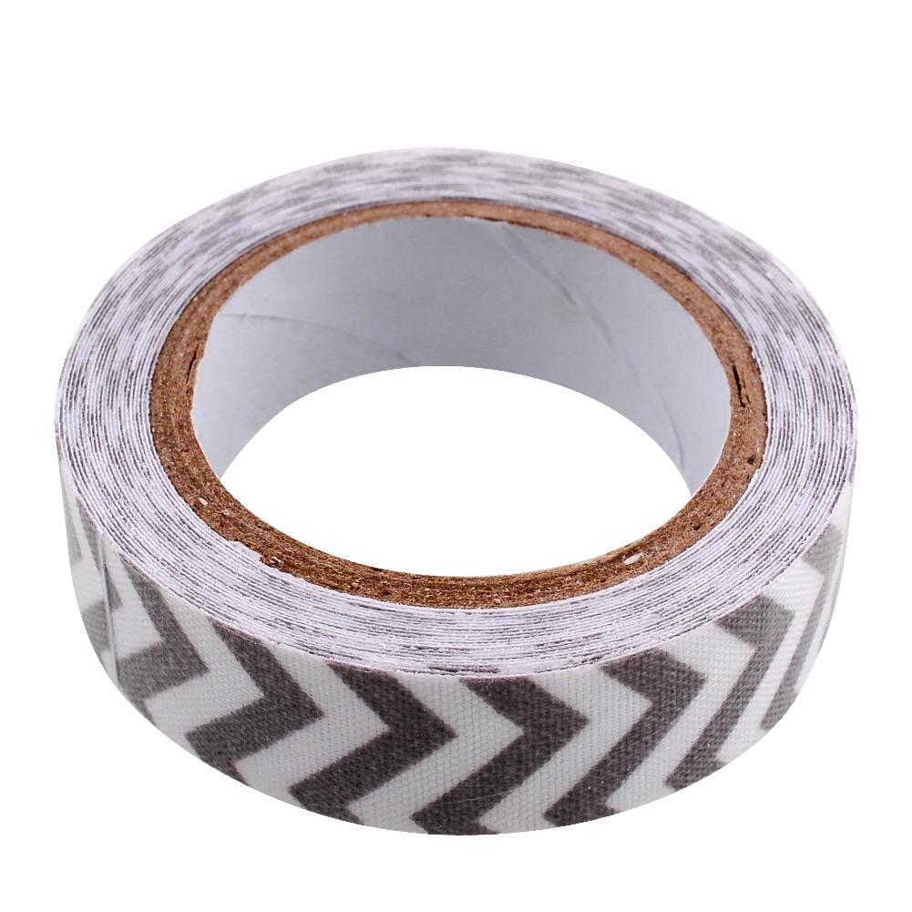 Stripe washi rolls tape 15mm decorative adhesive for Decoration tape