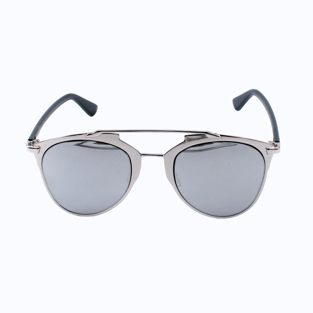 New Unisex Men Women Cat Eye Mirror Vintage Retro Oversized Sunglasses