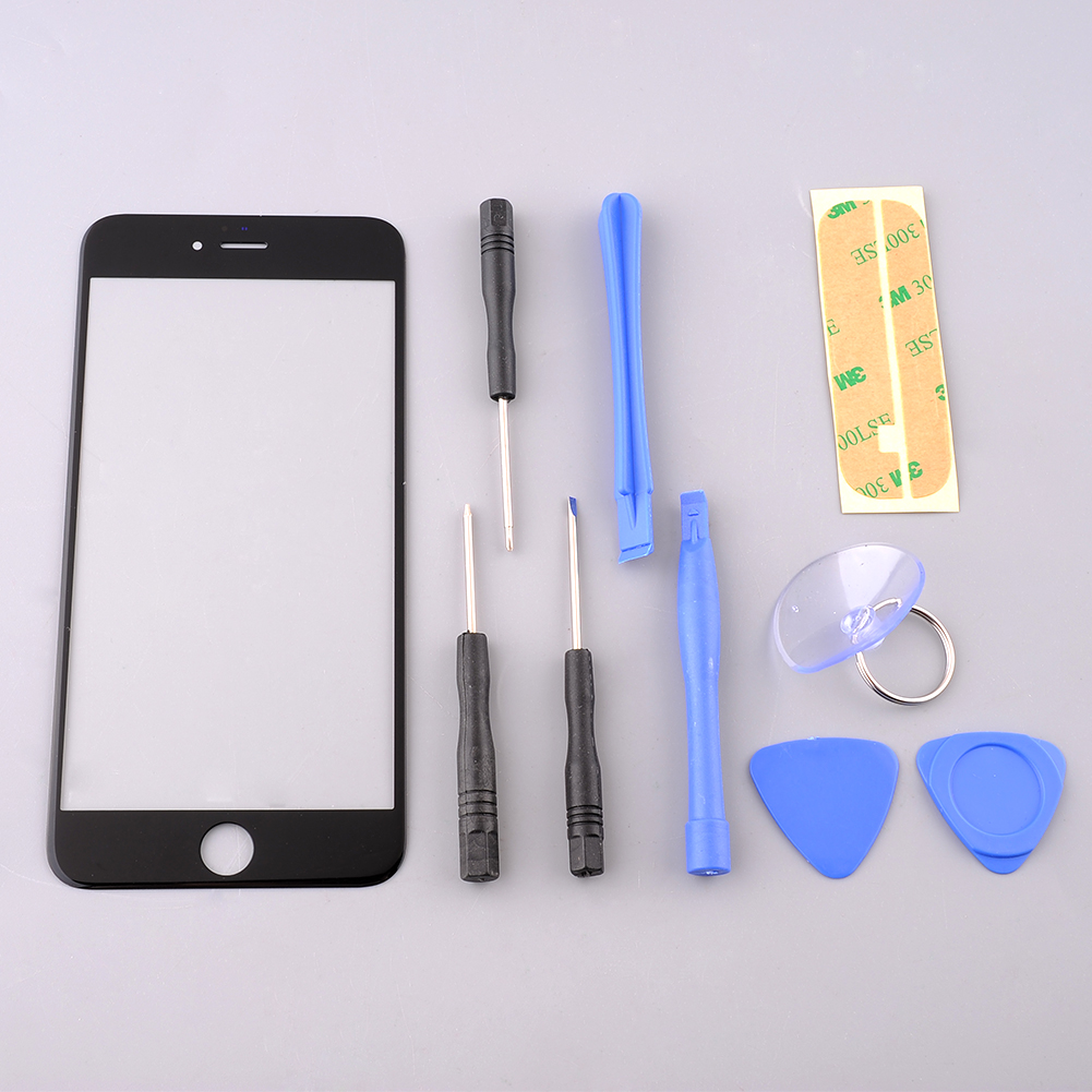 Eyeglass Repair Kit For Iphone : LCD Front Outer Screen Glass Lens kit for Apple 5.5 ...
