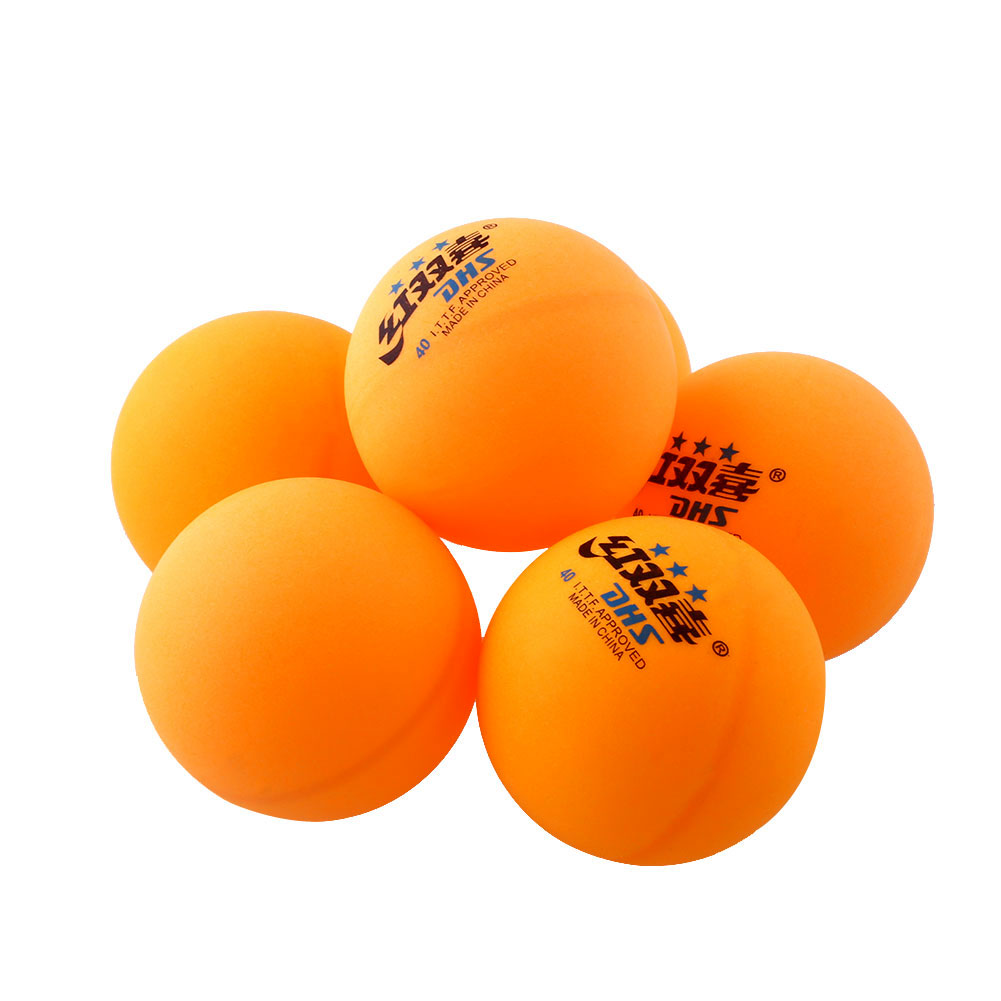 034D-Professional-6Pcs-3-stars-DHS-Orange-White-Ping-Pong-Balls-Competition