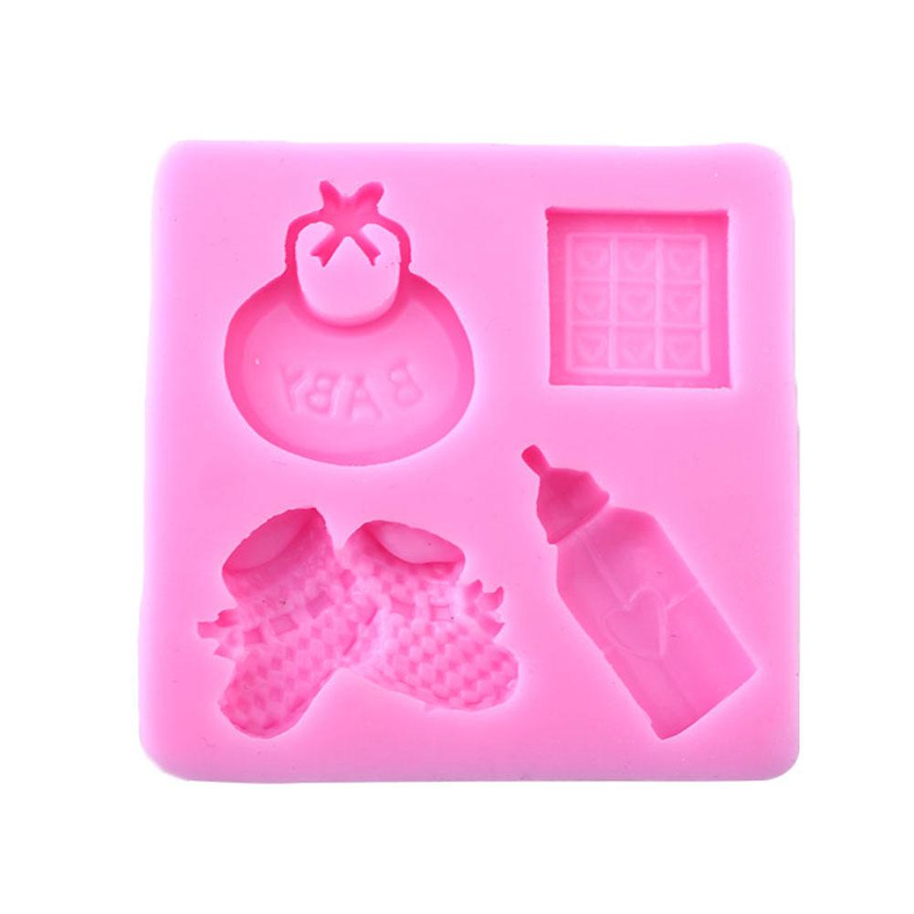 Cake Decorating Baby Mould : Baby Silicone Mold For Fondant Cake Decorating bottle ...