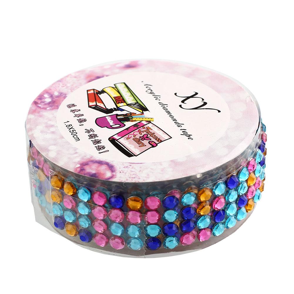 0D2C-Self-Adhesive-Acrylic-Rhinestones-Stick-Crystal-Craft-Sticker-Tape-DIY