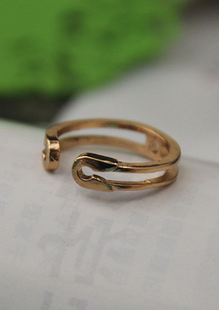 retro vintage simple hollow ring rings jewelry