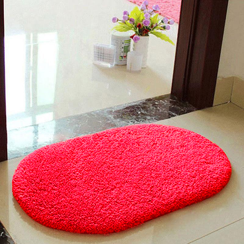 Anti-Skid Fluffy Shaggy Area Rug Bedroom Bathroom Floor
