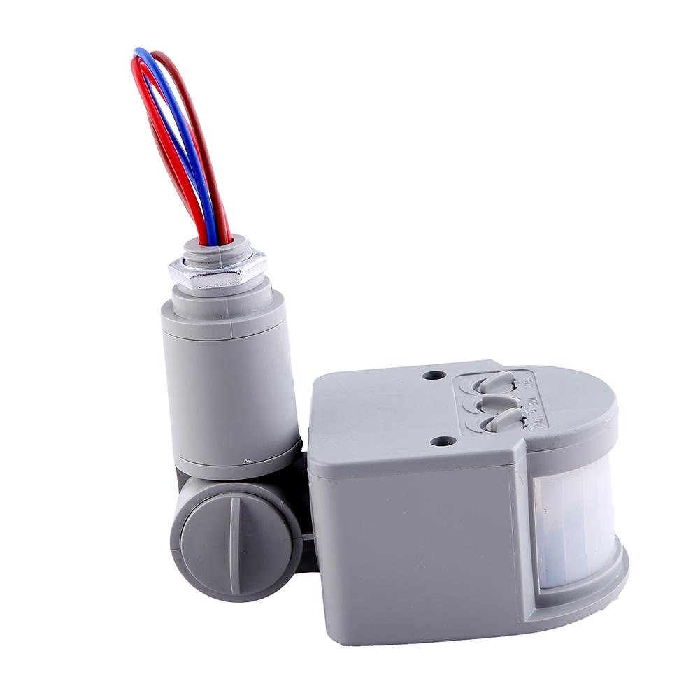 AC85 265V 12M Security PIR Motion Sensor Detector Safe Wall LED Light Outdoor