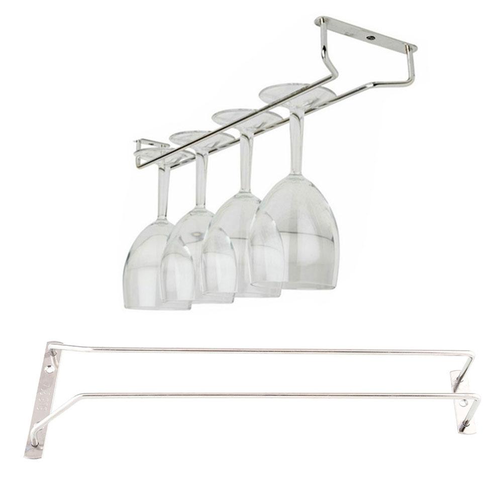 35cm 13 wine glass cup rack under cabinet hanging. Black Bedroom Furniture Sets. Home Design Ideas