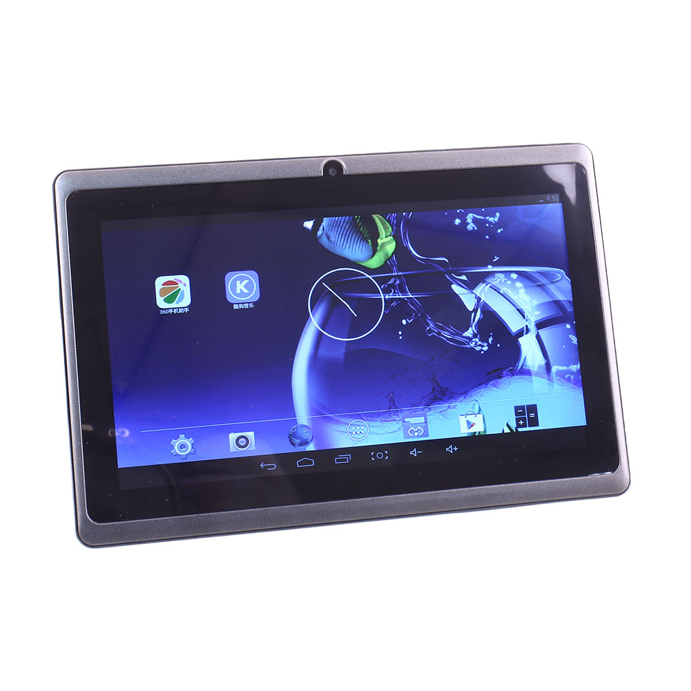 7 kids google android 4 4 quad core tablet pc 8gb wifi. Black Bedroom Furniture Sets. Home Design Ideas