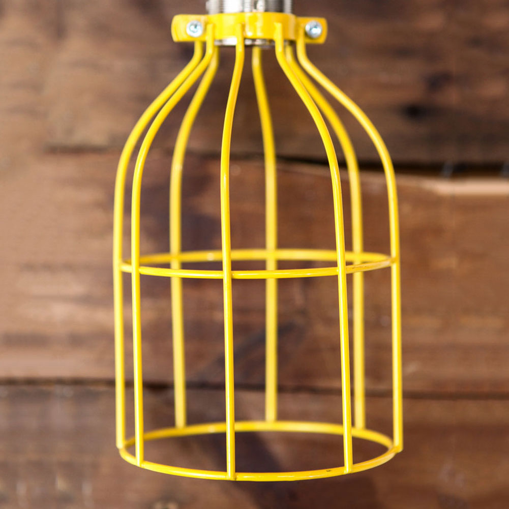 Metal Cap String Lights : Lighting Metal Hanging Guard for Pendant String Light Lamp Holder Wire Iron Cage eBay