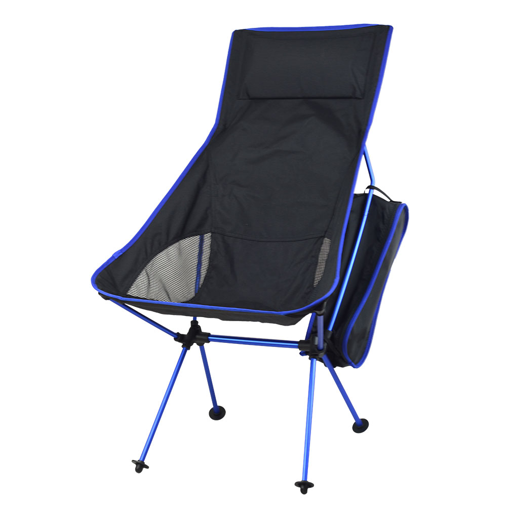 Outdoor Portable Folding Chair With Pillow Ultralight