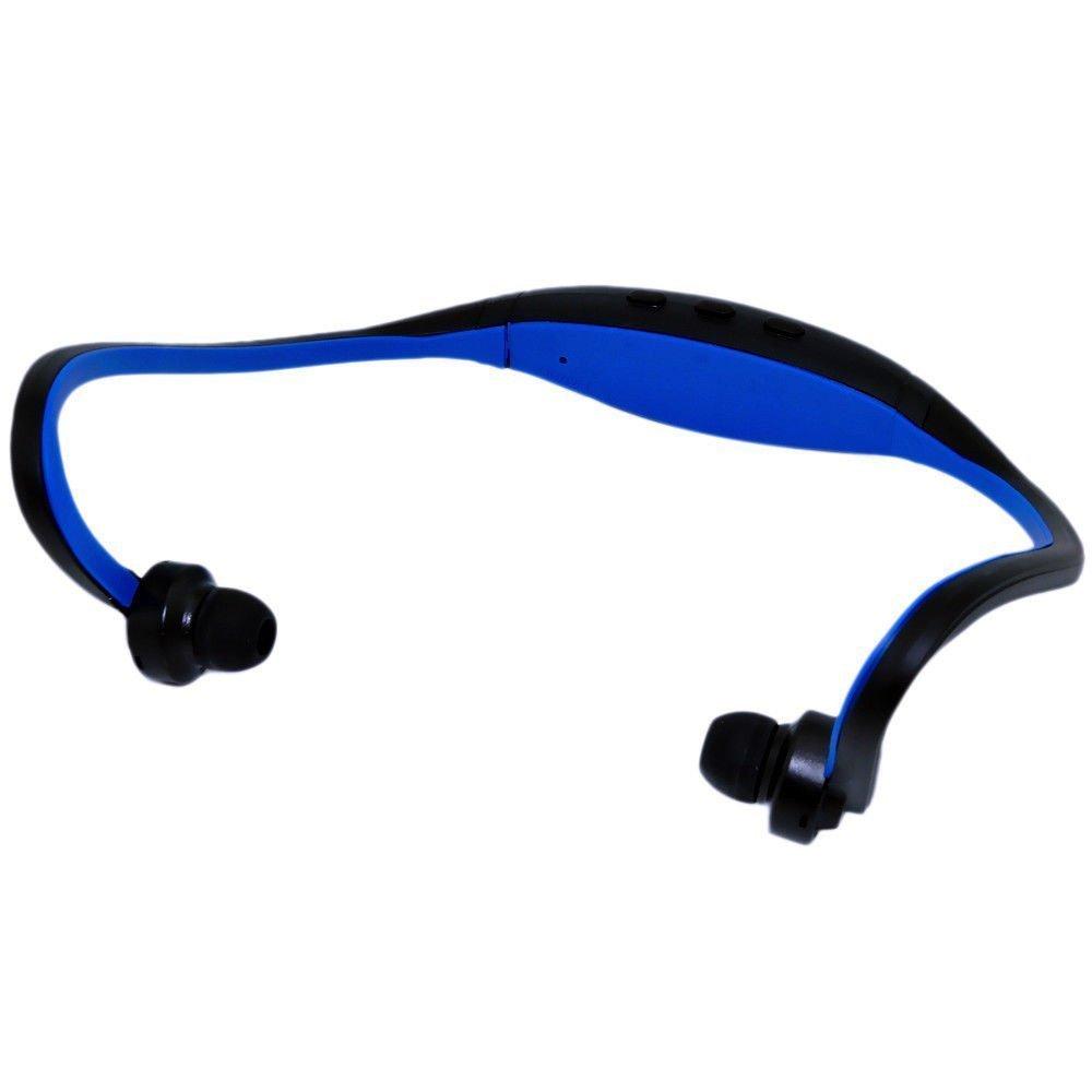 Wireless Sport Headset Headphones Earphone Portable For iPhone Smartphone PSP