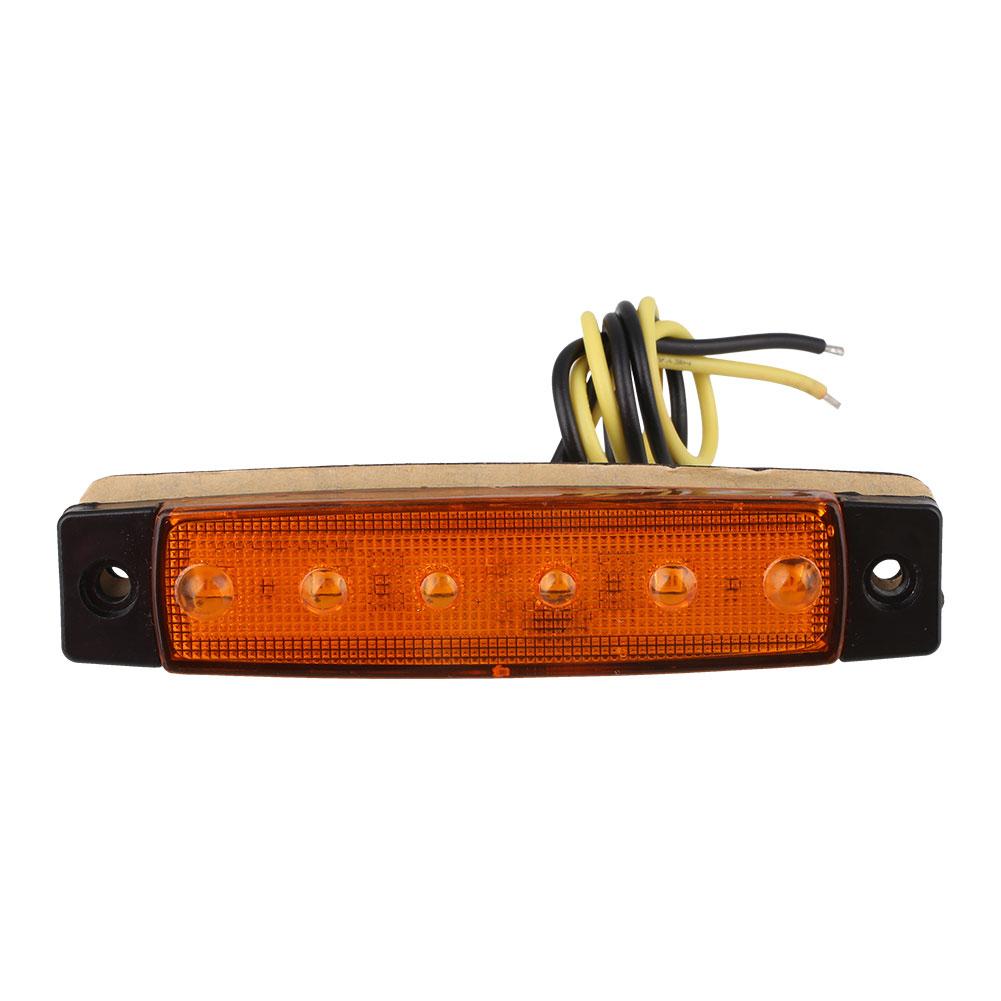 901E-6-LED-Car-Truck-Van-Trailer-Side-Marker-Light-Clearly-Indicator-Lamp-24V