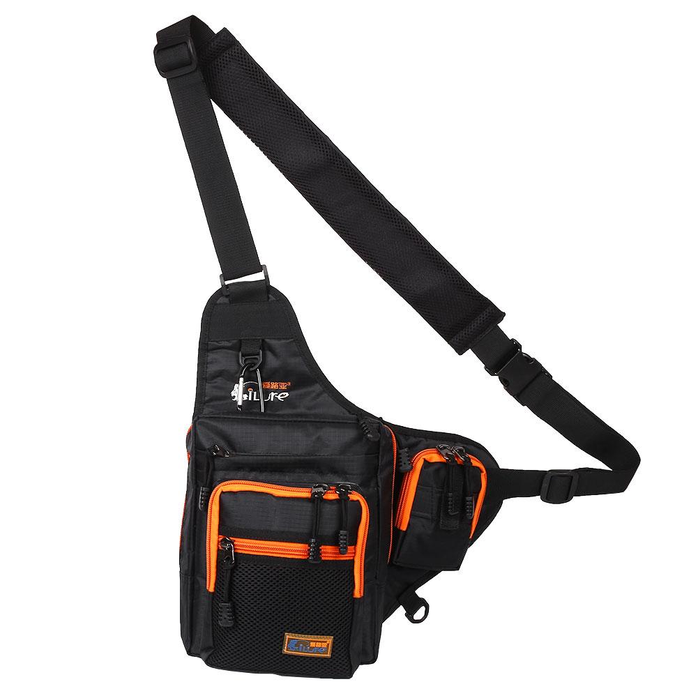 Fishing tackle bag pack multifunctional waterproof waist for Fishing backpack tackle bag